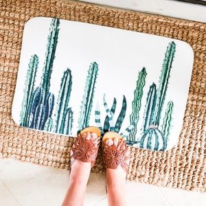 Other - New Soft Cactus Plant Lovers Boho Doormat